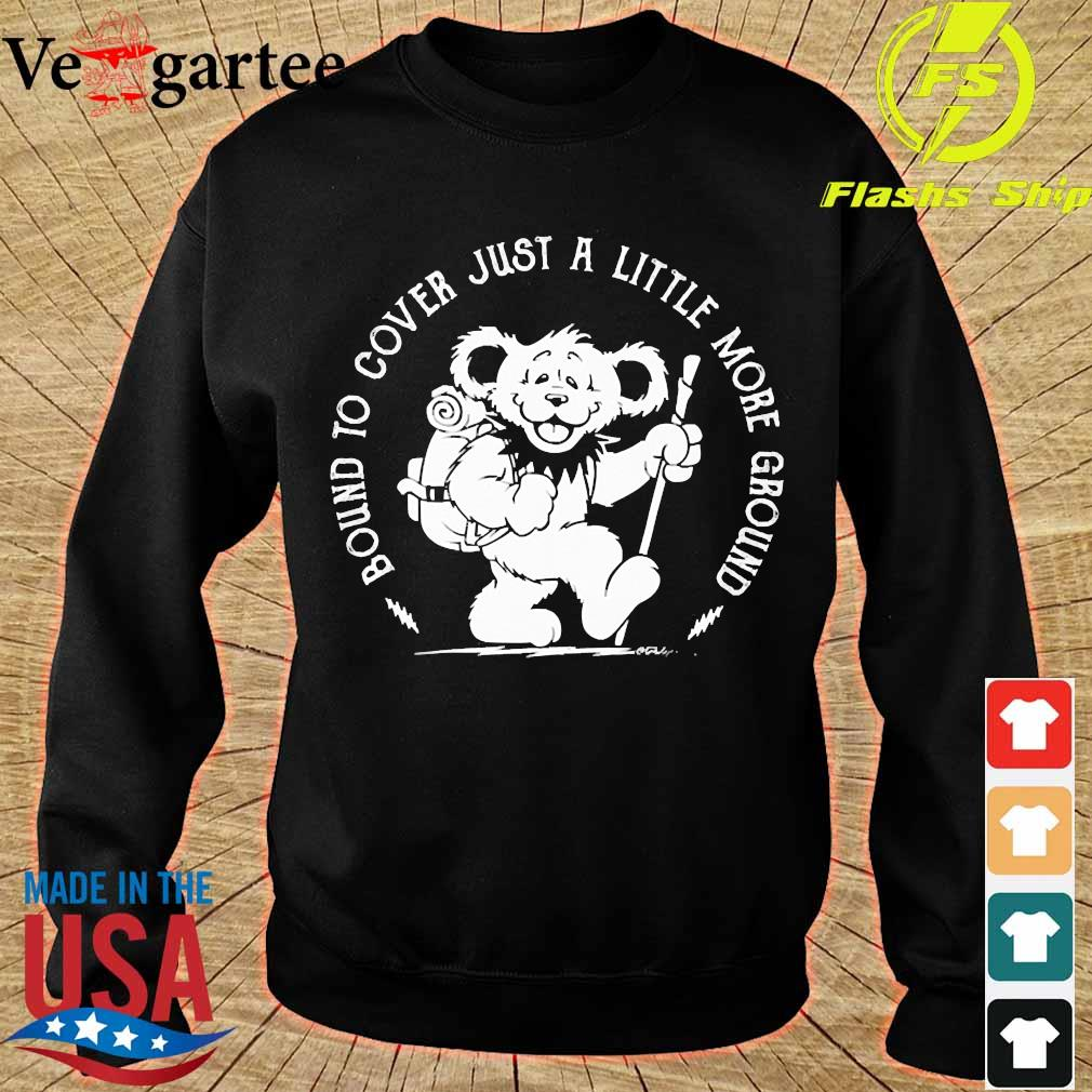 Grateful Dead Bear Bound to cover just a little more ground s sweater