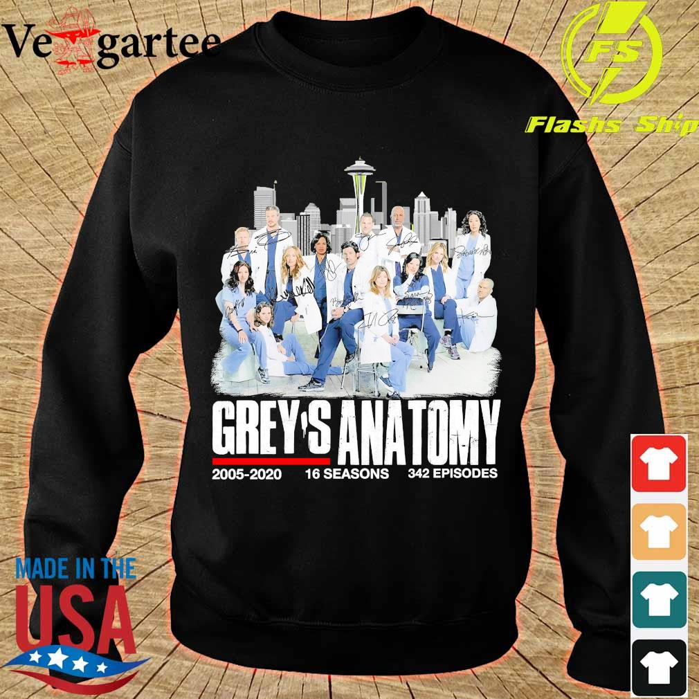 Grey's anatomy 2005 2020 16 seasons 342 episodes s sweater