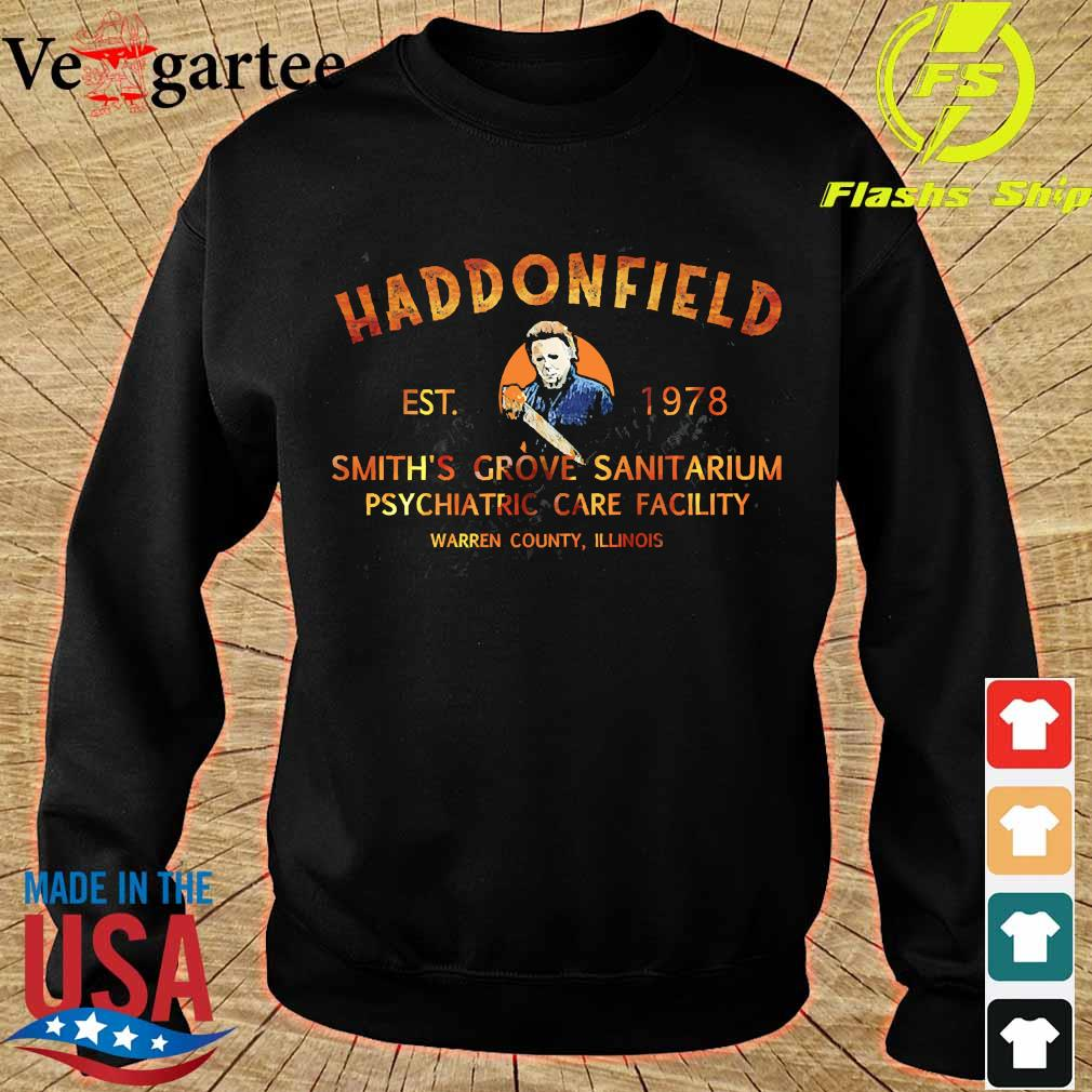 Haddonfield est 1978 smith's grove sanitarium s sweater