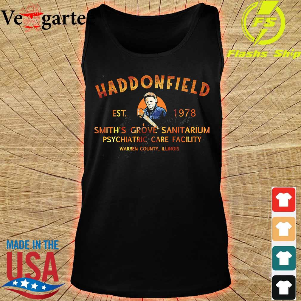 Haddonfield est 1978 smith's grove sanitarium s tank top