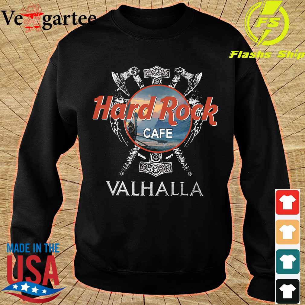 Hard Rock cafe Valhalla s sweater