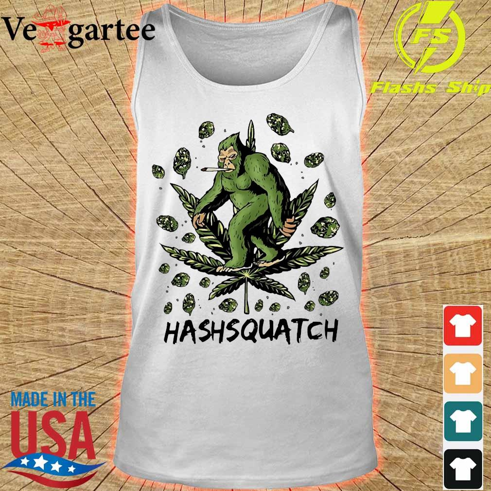 Hashsquatch Funny Bigfoot weed s tank top