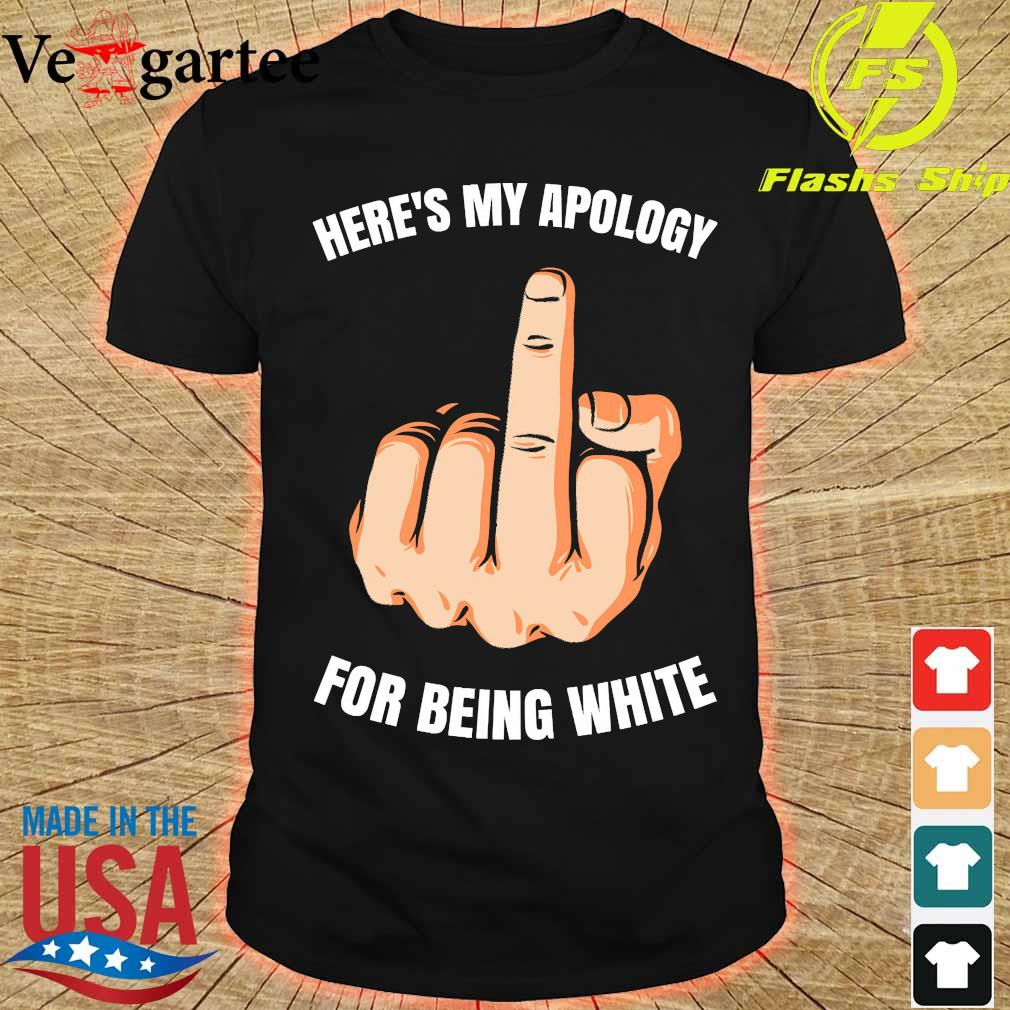 Here's my apology for being white shirt
