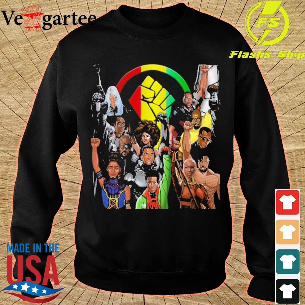 Heroes Black live matter s sweater