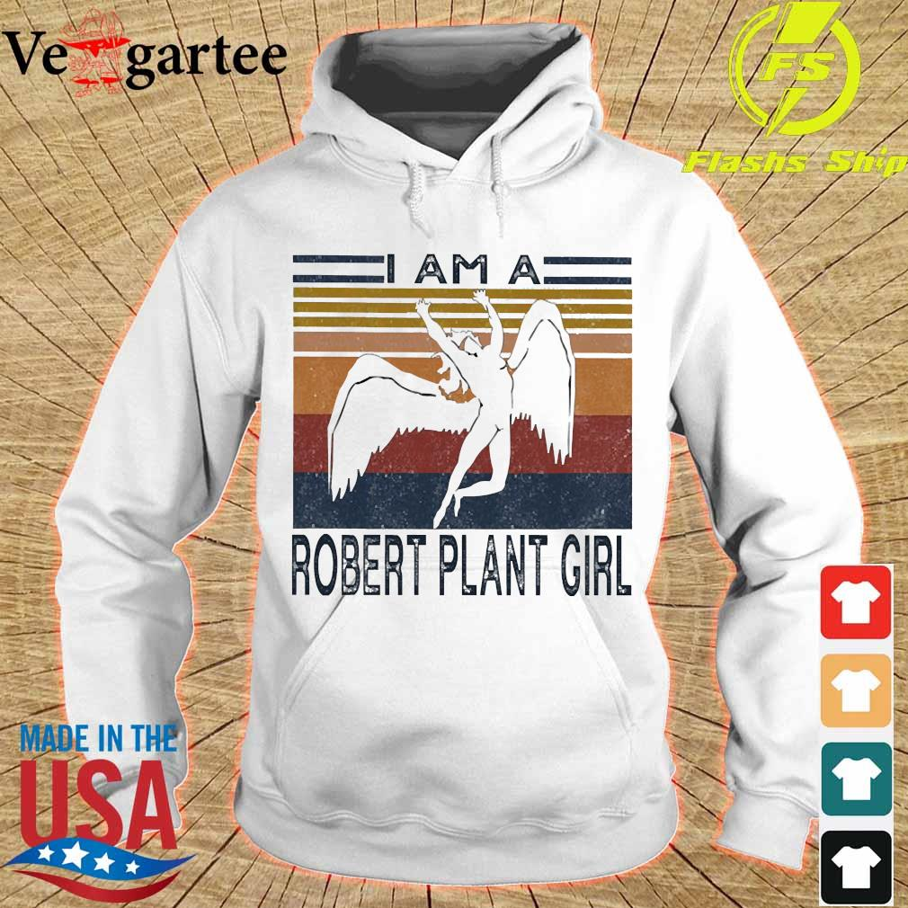 I am a Robert plant girl vintage s hoodie
