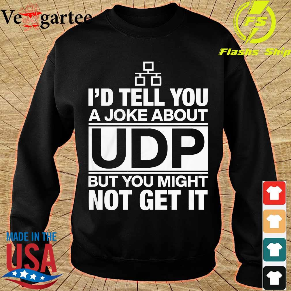 I'd tell You a Joke about UDP but You might not get It s sweater