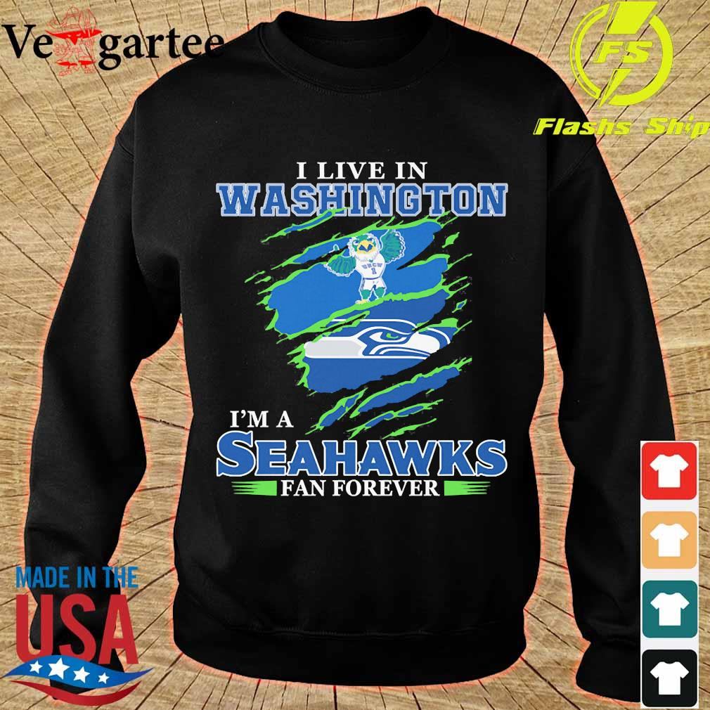 I live in Washington I'm a Seahawks fan forever s sweater