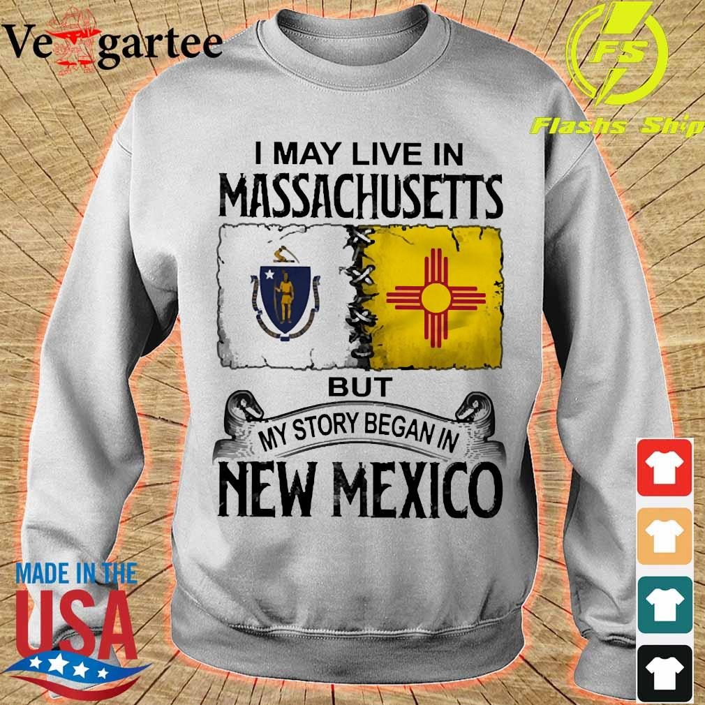 I may live in Massachusetts but my story began in New Mexico s sweater