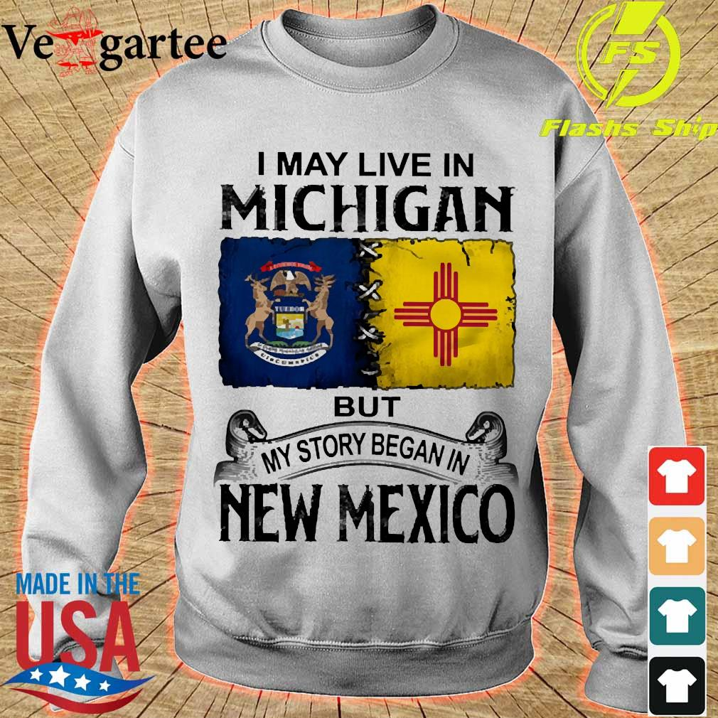 I may live in Michigan but my story began in New Mexico s sweater