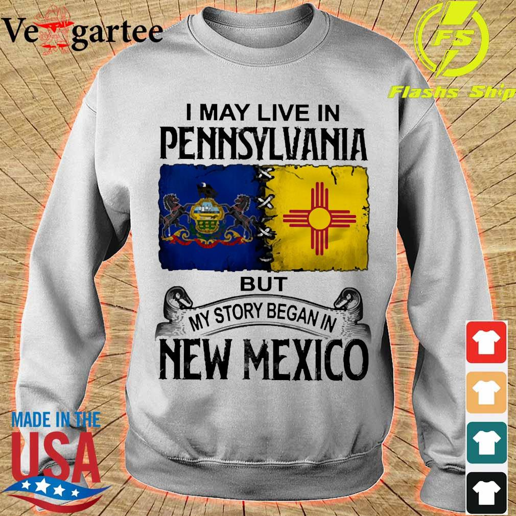 I may live in Pennsylvania but my story began in New Mexico s sweater