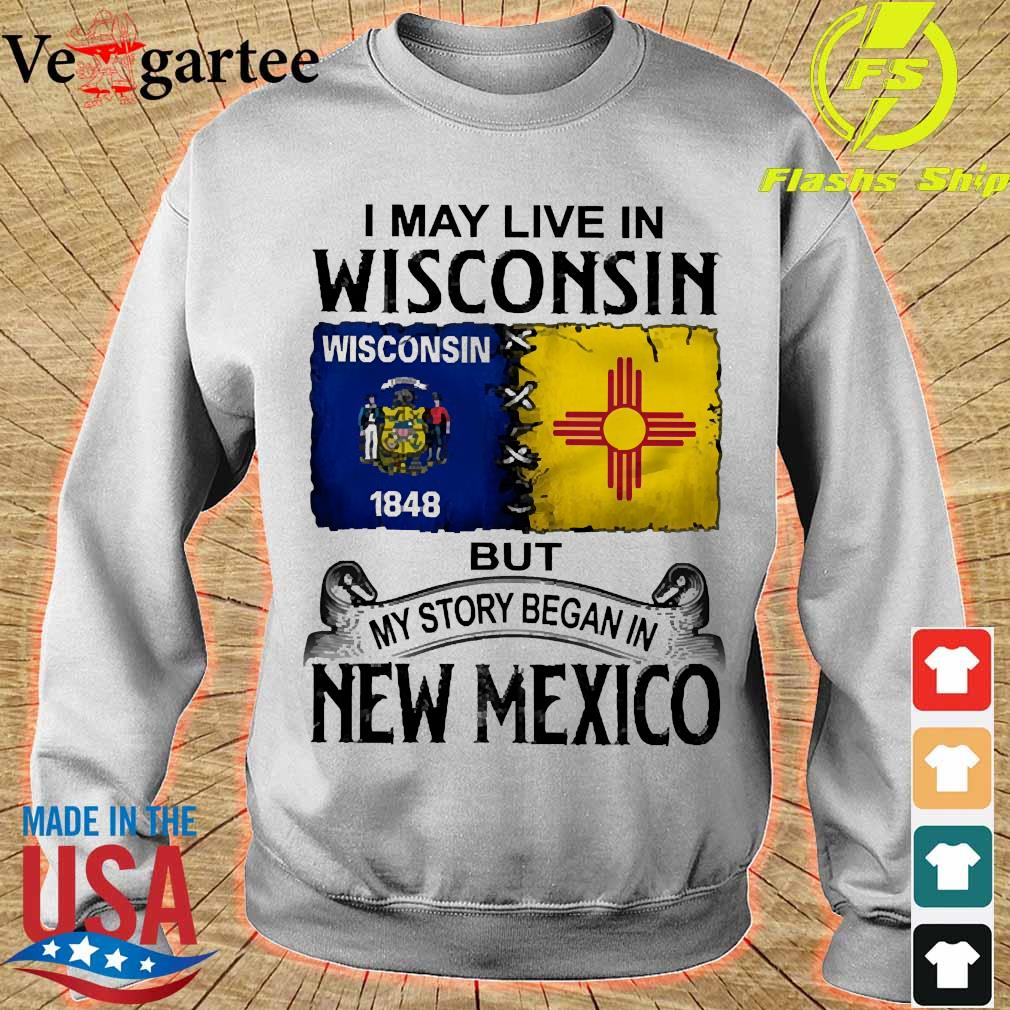 I may live in Wisconsin but my story began in New Mexico s sweater