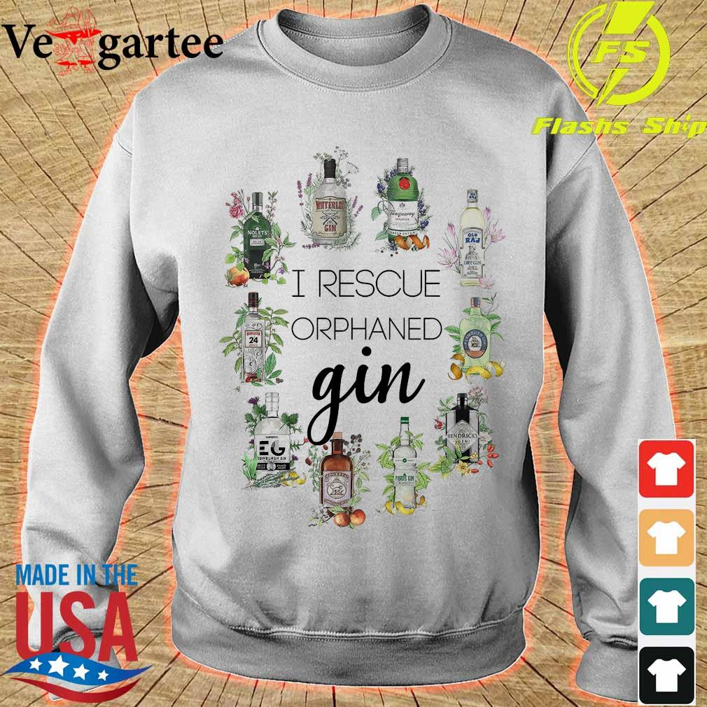 I reacue orphaned gin s sweater