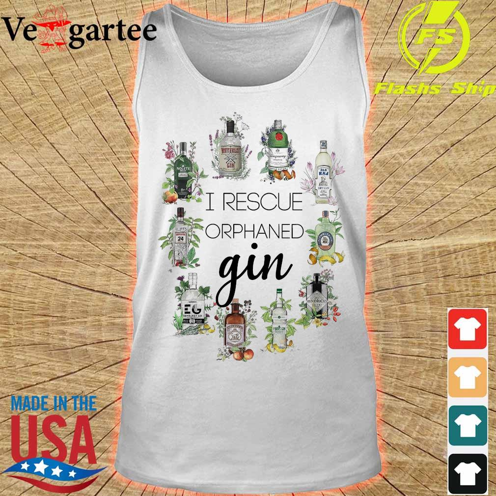 I reacue orphaned gin s tank top