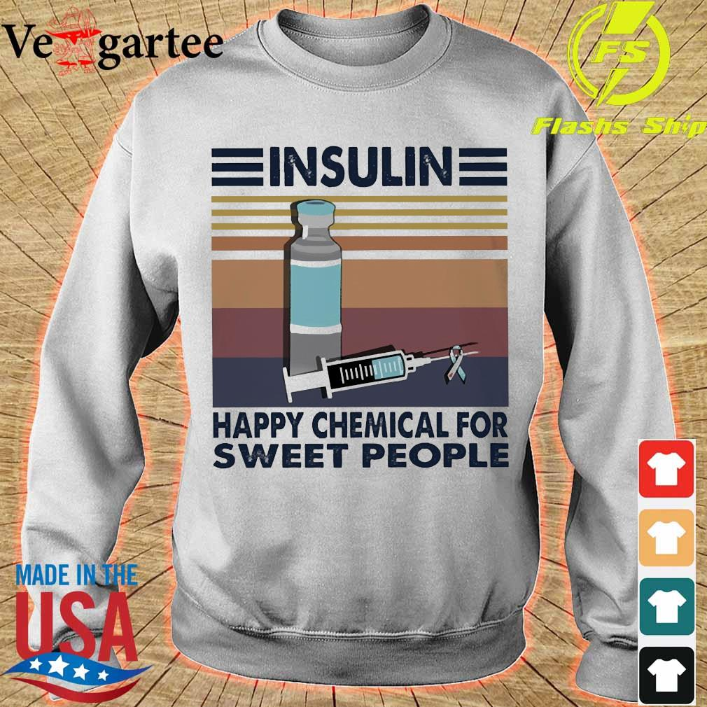 Insulin happy chemical for sweet people vintage s sweater