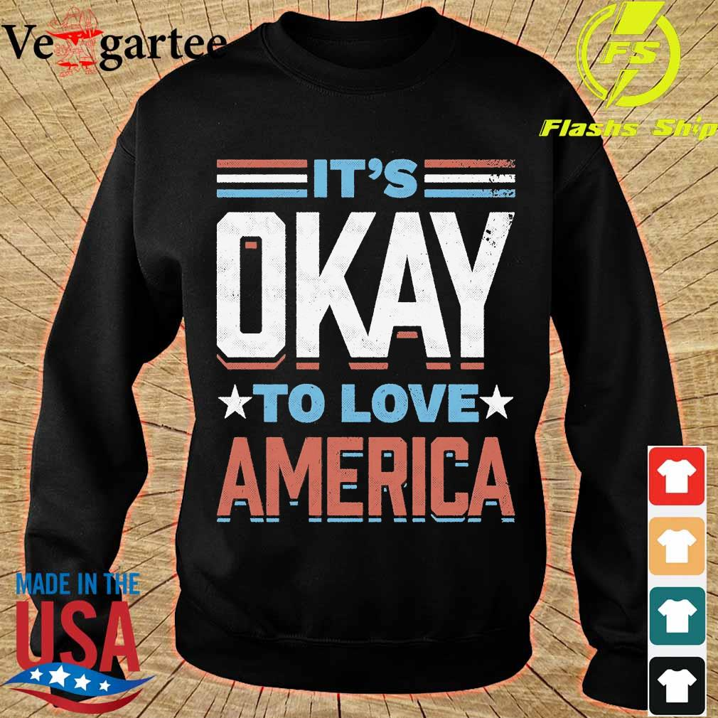 IT's okay to love America s sweater
