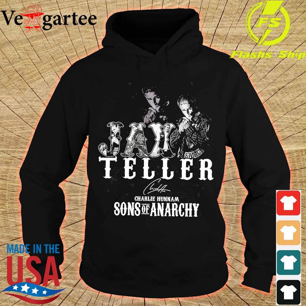 Jax Teller charlie hunnam Sons of anarchy signature s hoodie