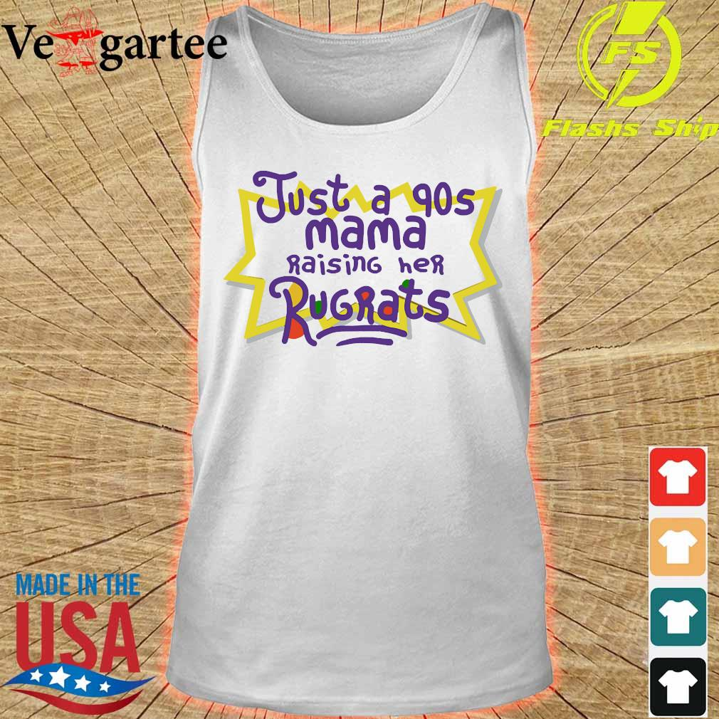 Just a 90s mama raising her Rugrats s tank top