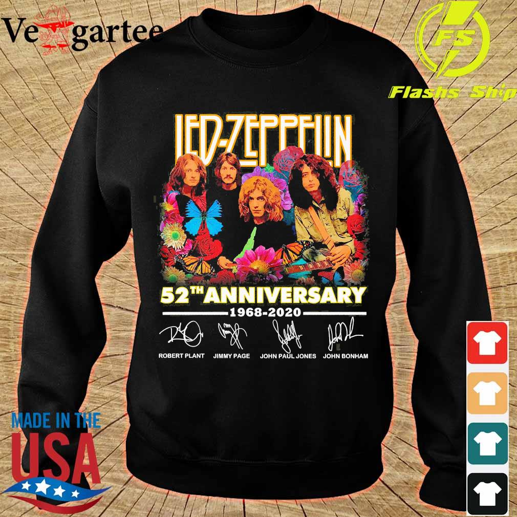 Led Zeppelin 52th anniversary 1968 2020 signatures s sweater