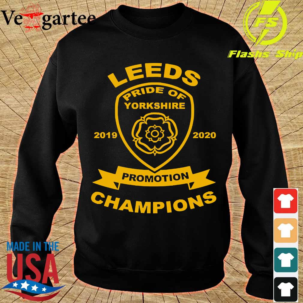 Leeds pride of yorkshire 2019 2020 promotion champions s sweater