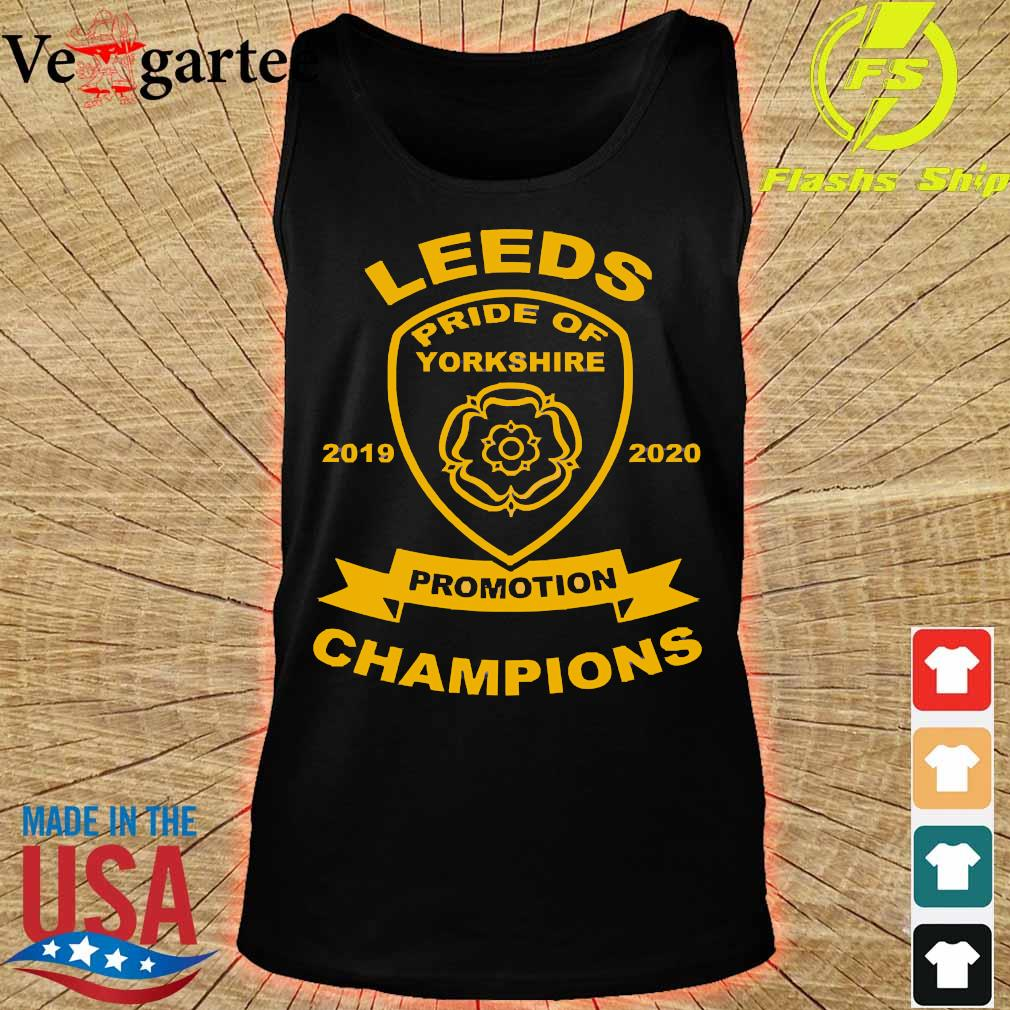 Leeds pride of yorkshire 2019 2020 promotion champions s tank top