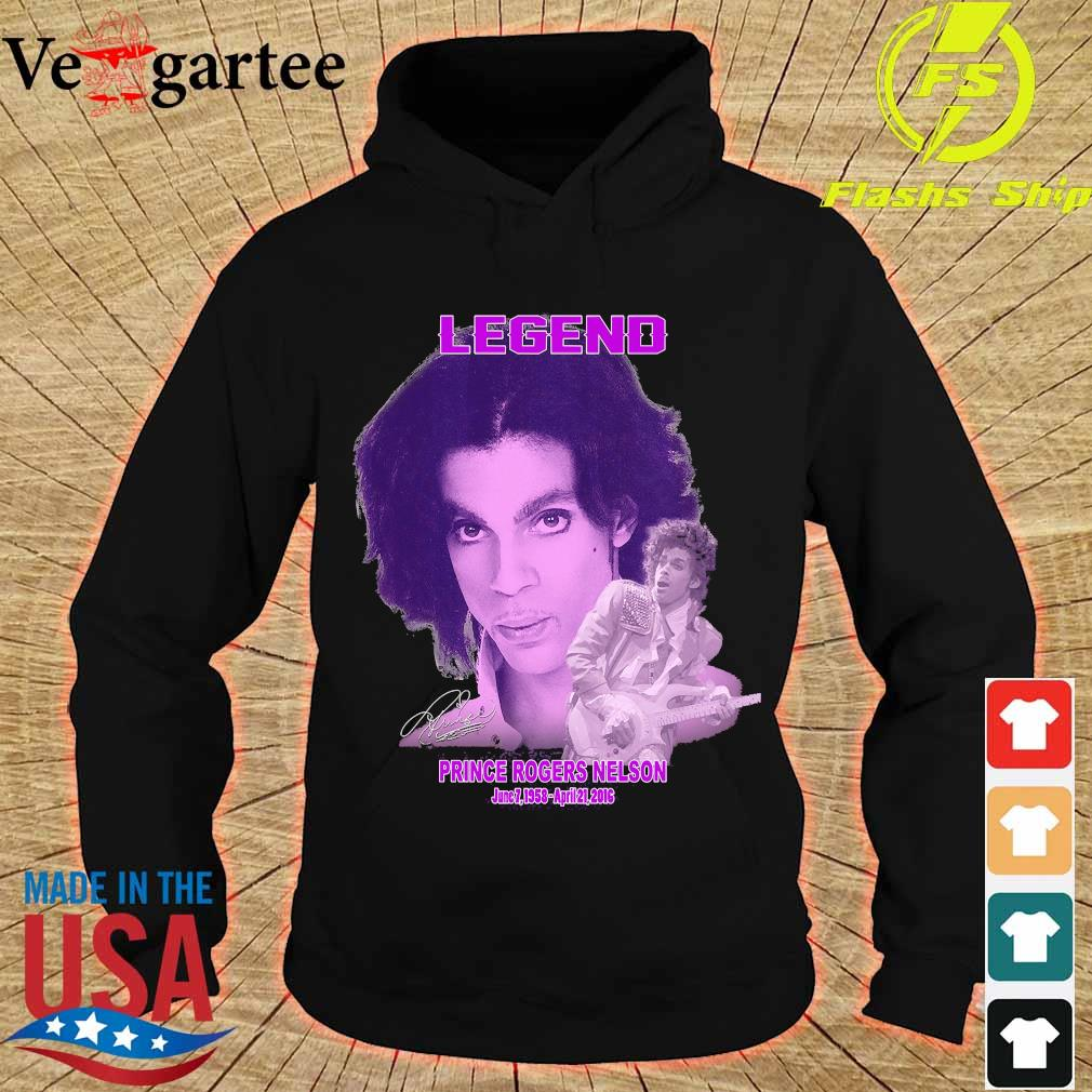 Legend Prince rogers nelson 1958 2016 signature s hoodie