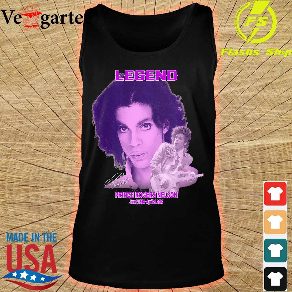 Legend Prince rogers nelson 1958 2016 signature s tank top