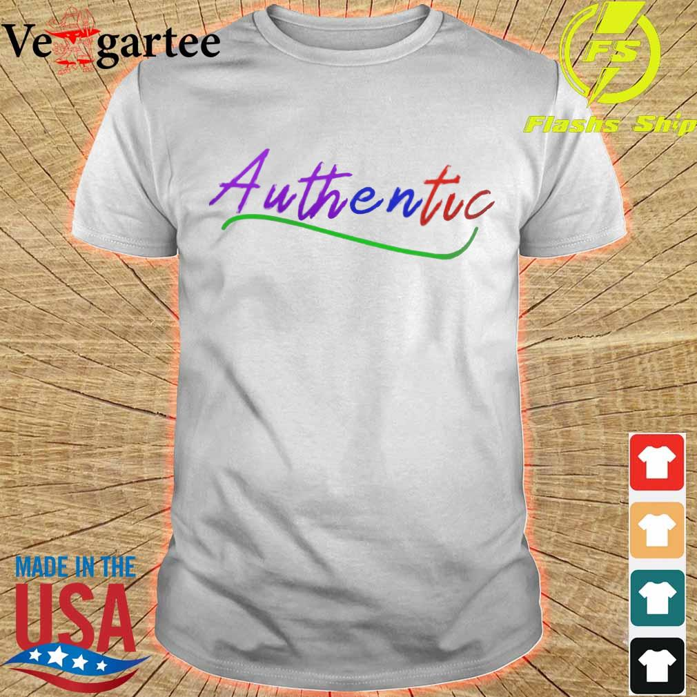 LGBT Authentic shirt