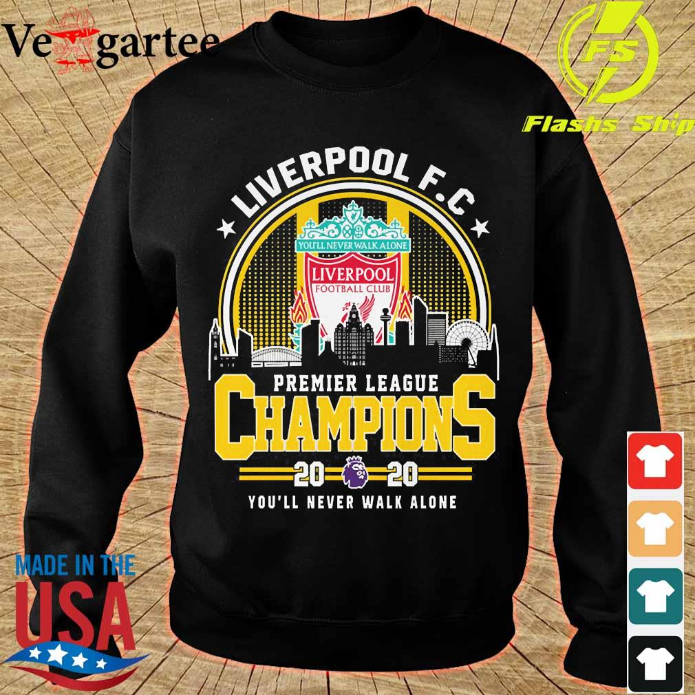 Liverpool F.C premier league champions 2020 You'll never walk alone s sweater