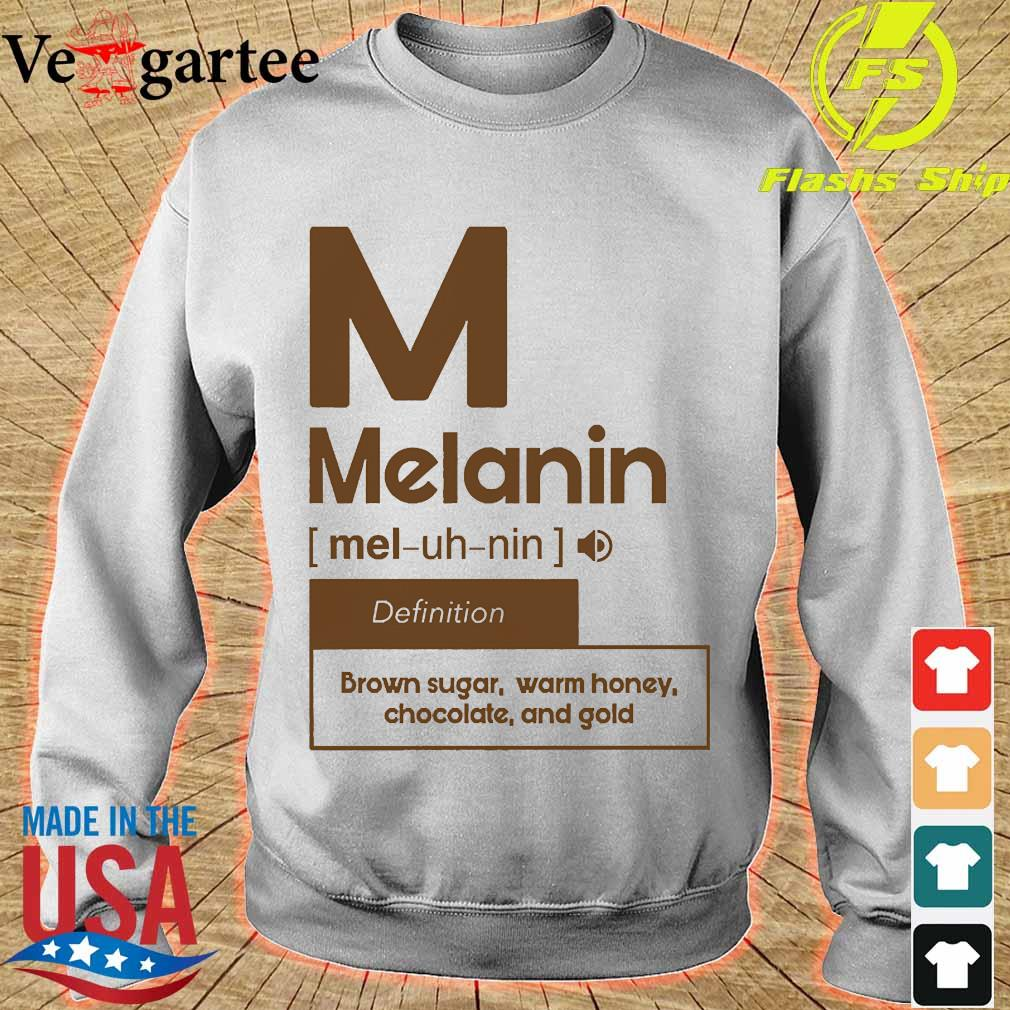 M melanin definition brown sugar warm honey chocolate and gold s sweater