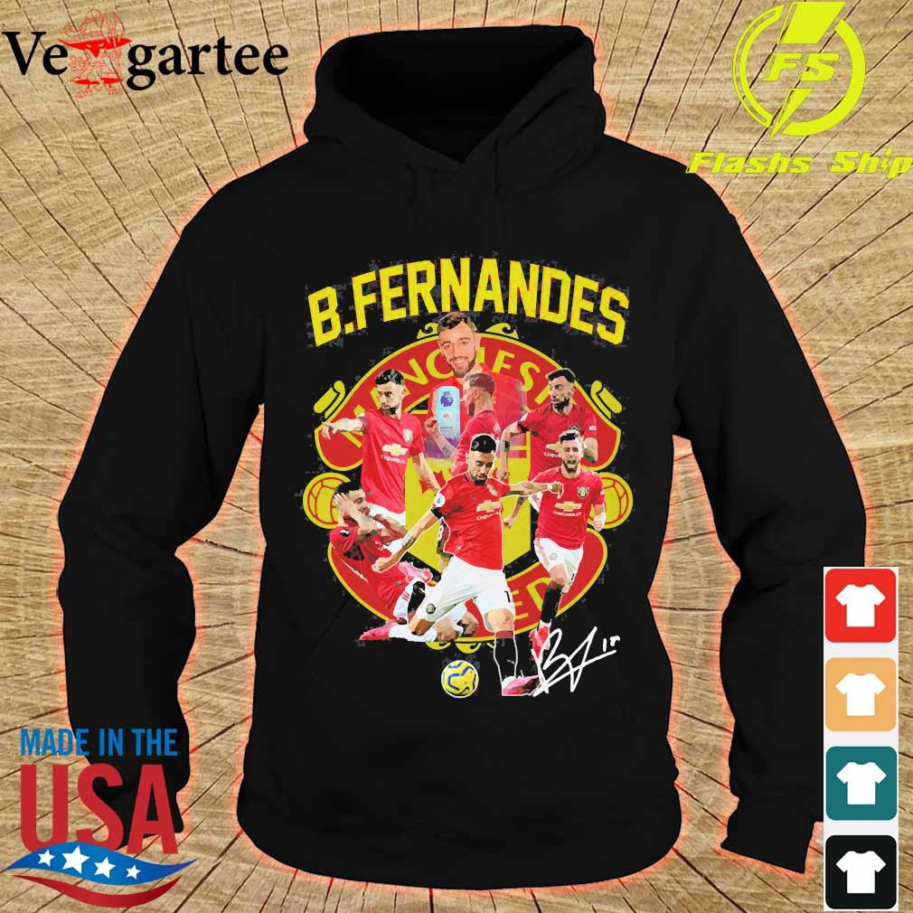 Manchester United B. Fernandes signature s hoodie