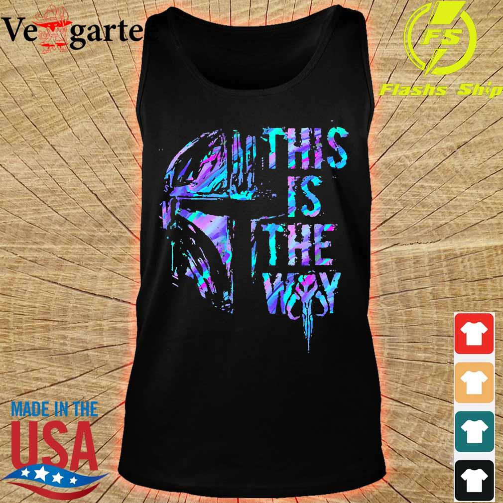 Mandalorian this is the Way s tank top