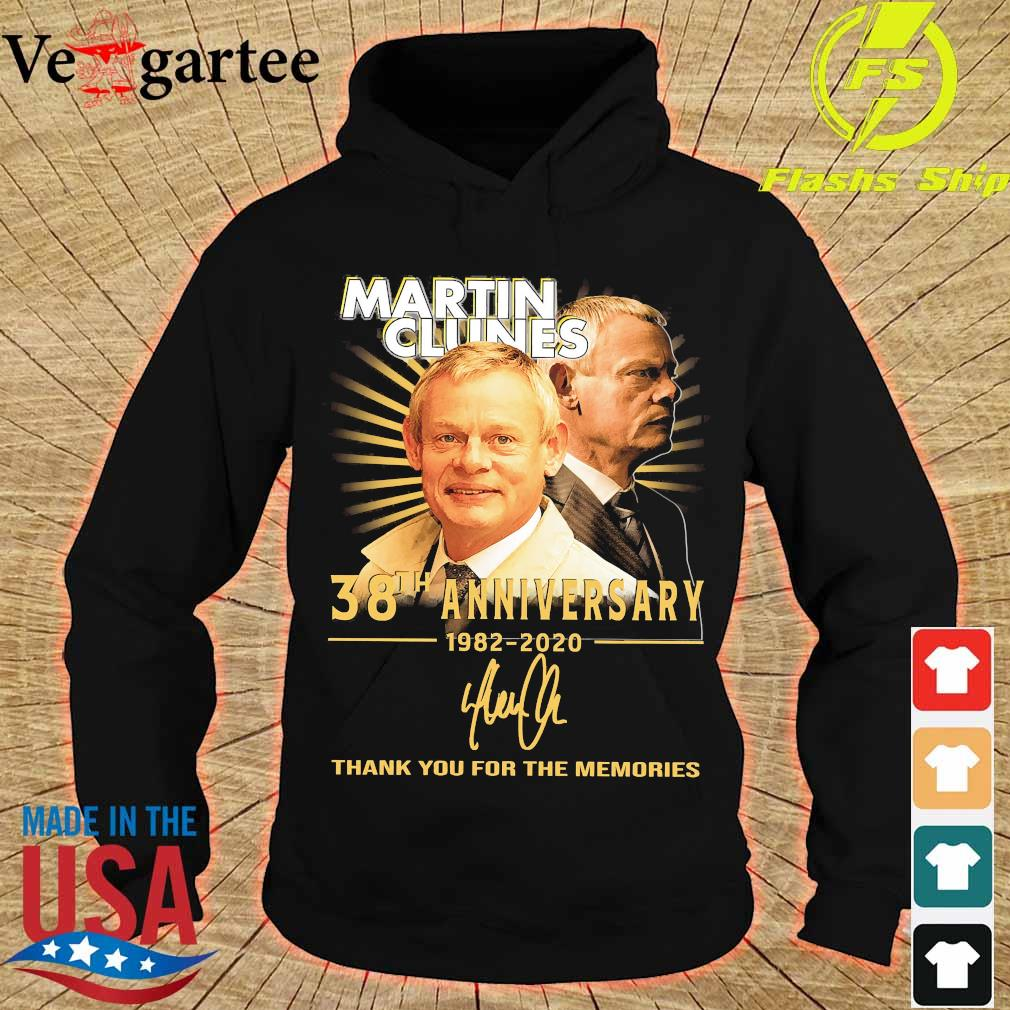 Martin Clunes 38th anniversary 1982 2020 thank You for the memories signature s hoodie