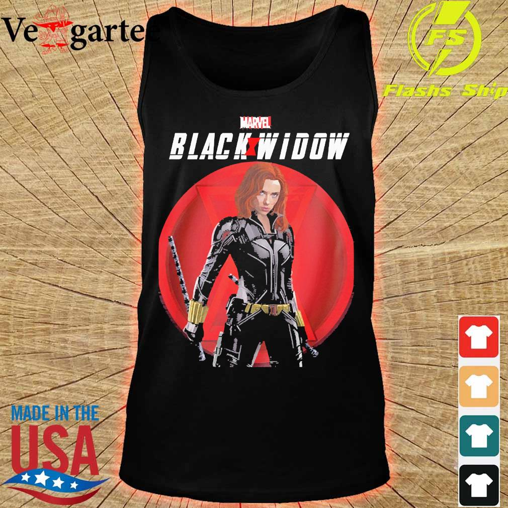Marvel Black and Widow s tank top