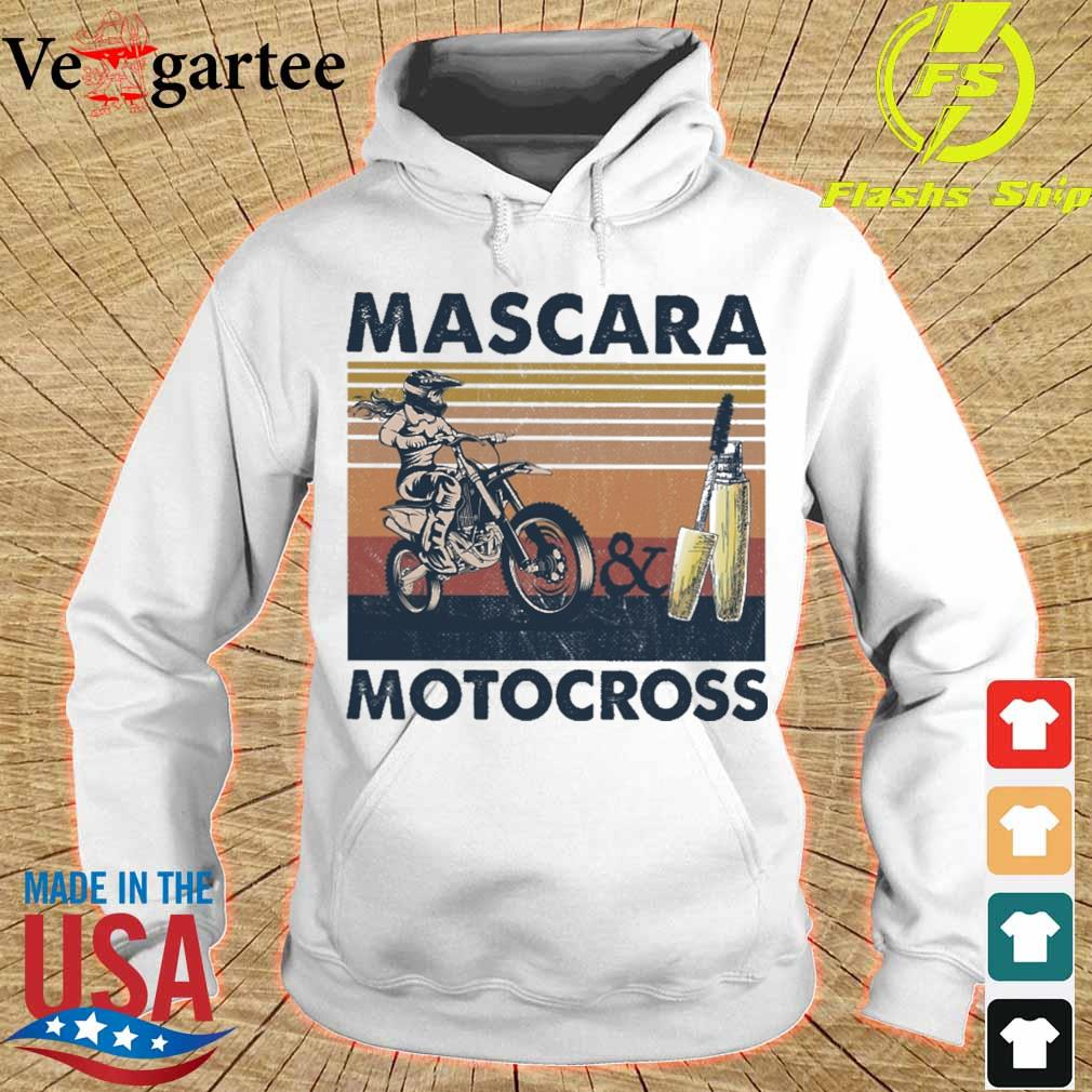 Mascara and Motocross vintage s hoodie