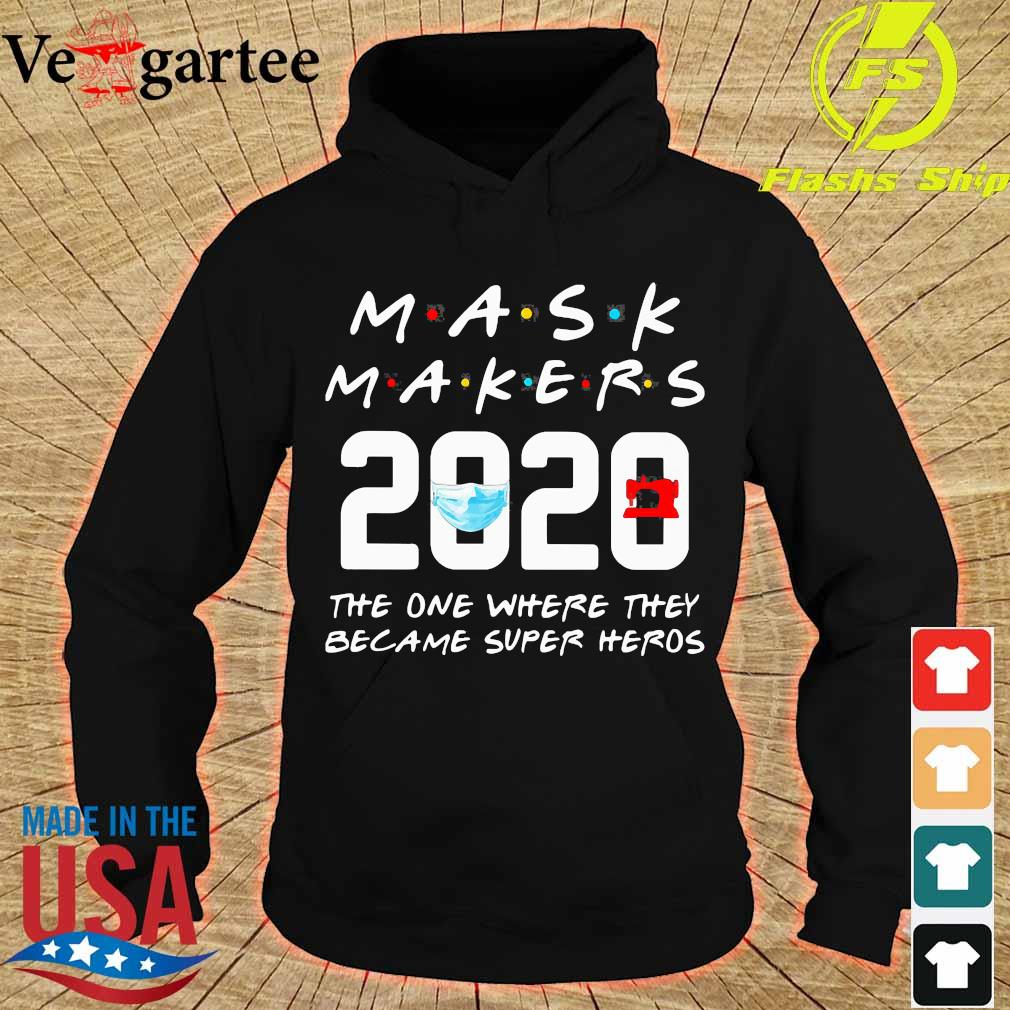 Mask Makers 2020 the one where They became super heros s hoodie