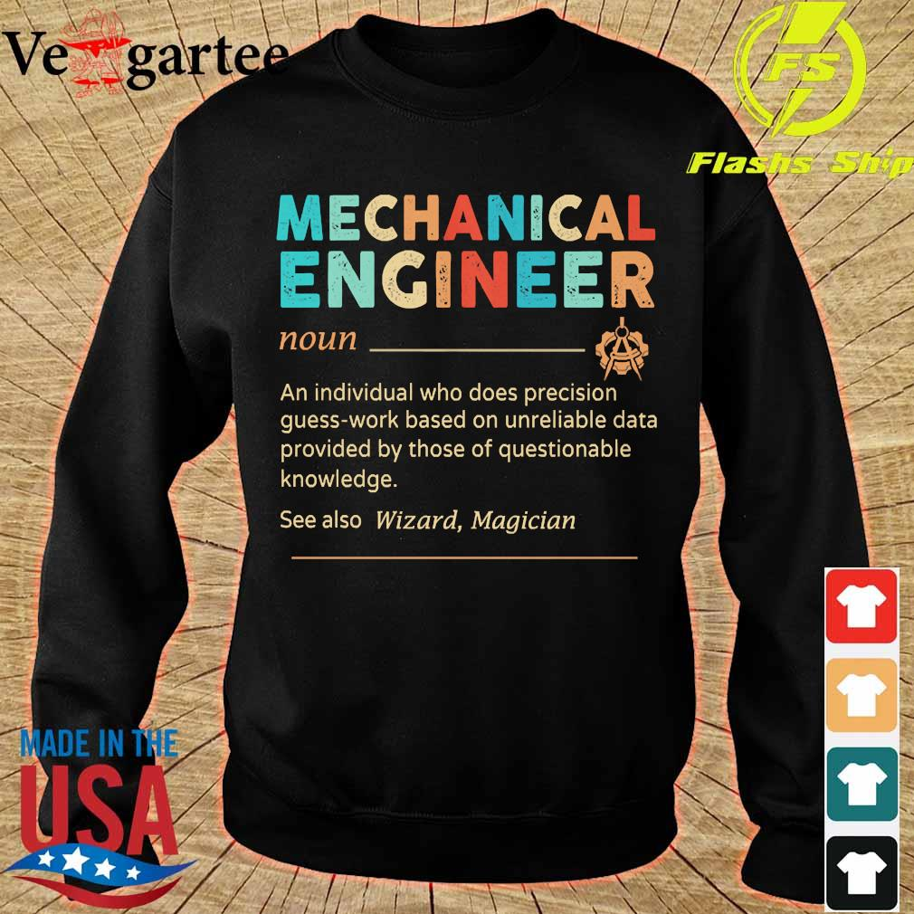 Mechanical Engineer definition vintage s sweater