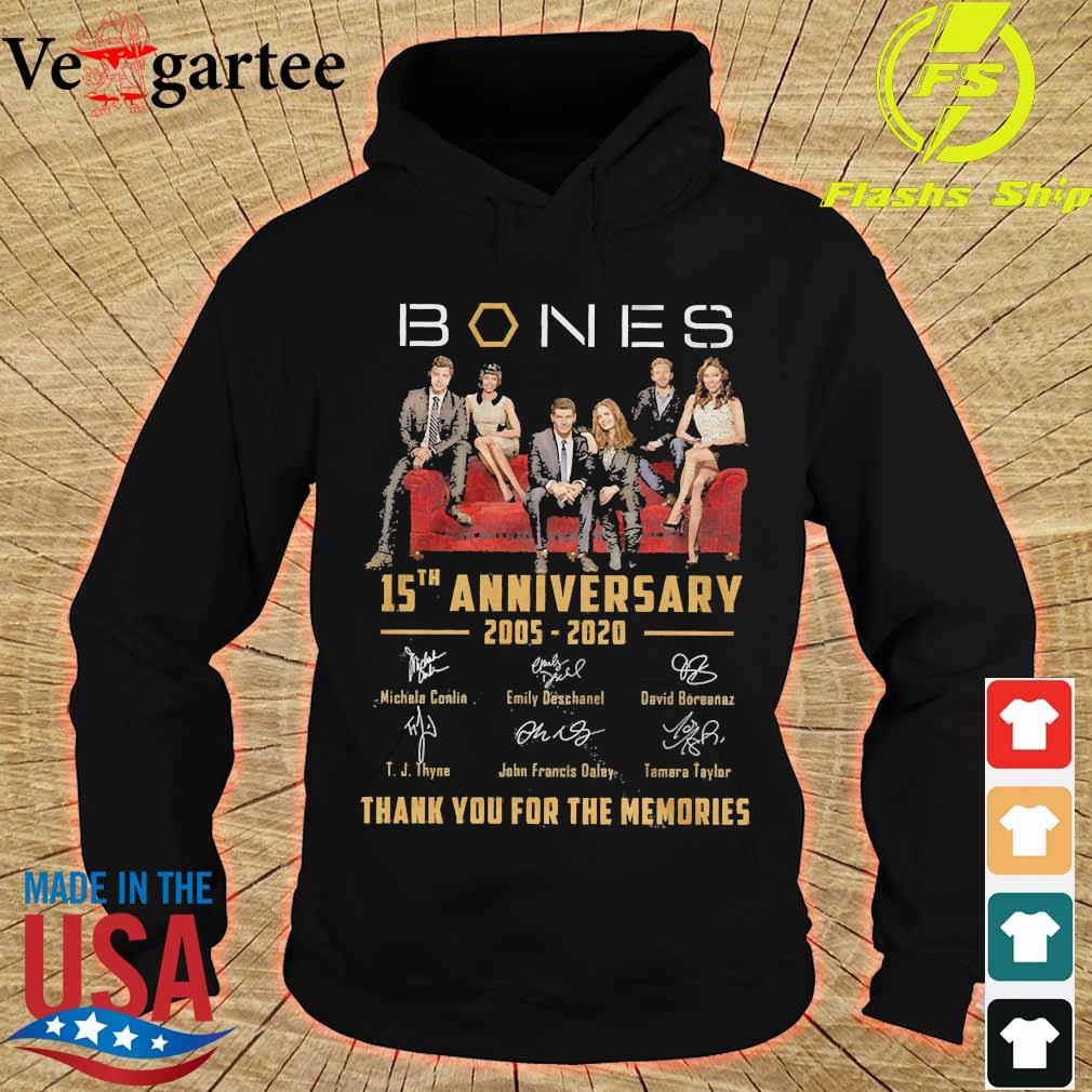 Mones 15th anniversary 2005 2020 thank You for the memories signatures s hoodie