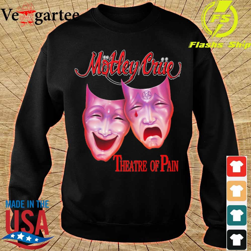 Motley triie theatre of pain s sweater