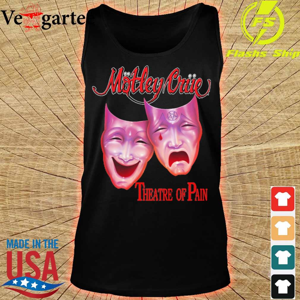 Motley triie theatre of pain s tank top