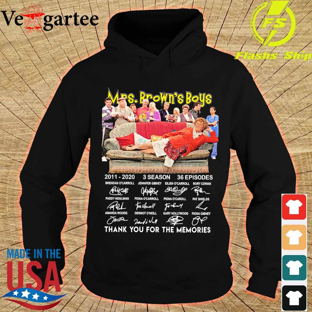 Mrs Brown's Boys 2011 2020 3 season 36 episodes thank You for the memories signatures s hoodie