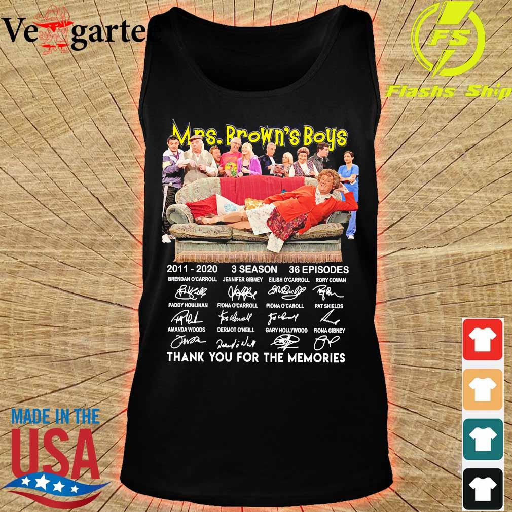 Mrs Brown's Boys 2011 2020 3 season 36 episodes thank You for the memories signatures s tank top
