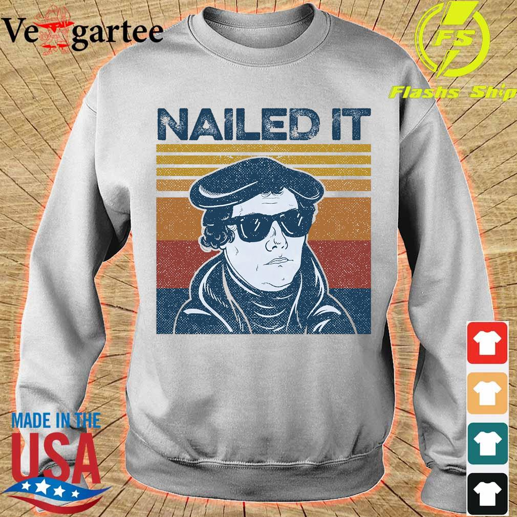 Nailed It Martin Luther vintage s sweater