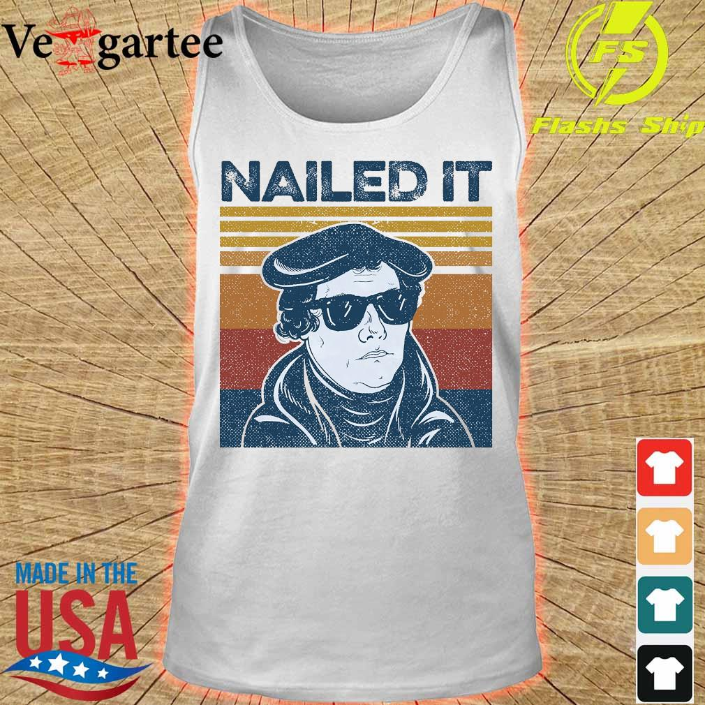 Nailed It Martin Luther vintage s tank top