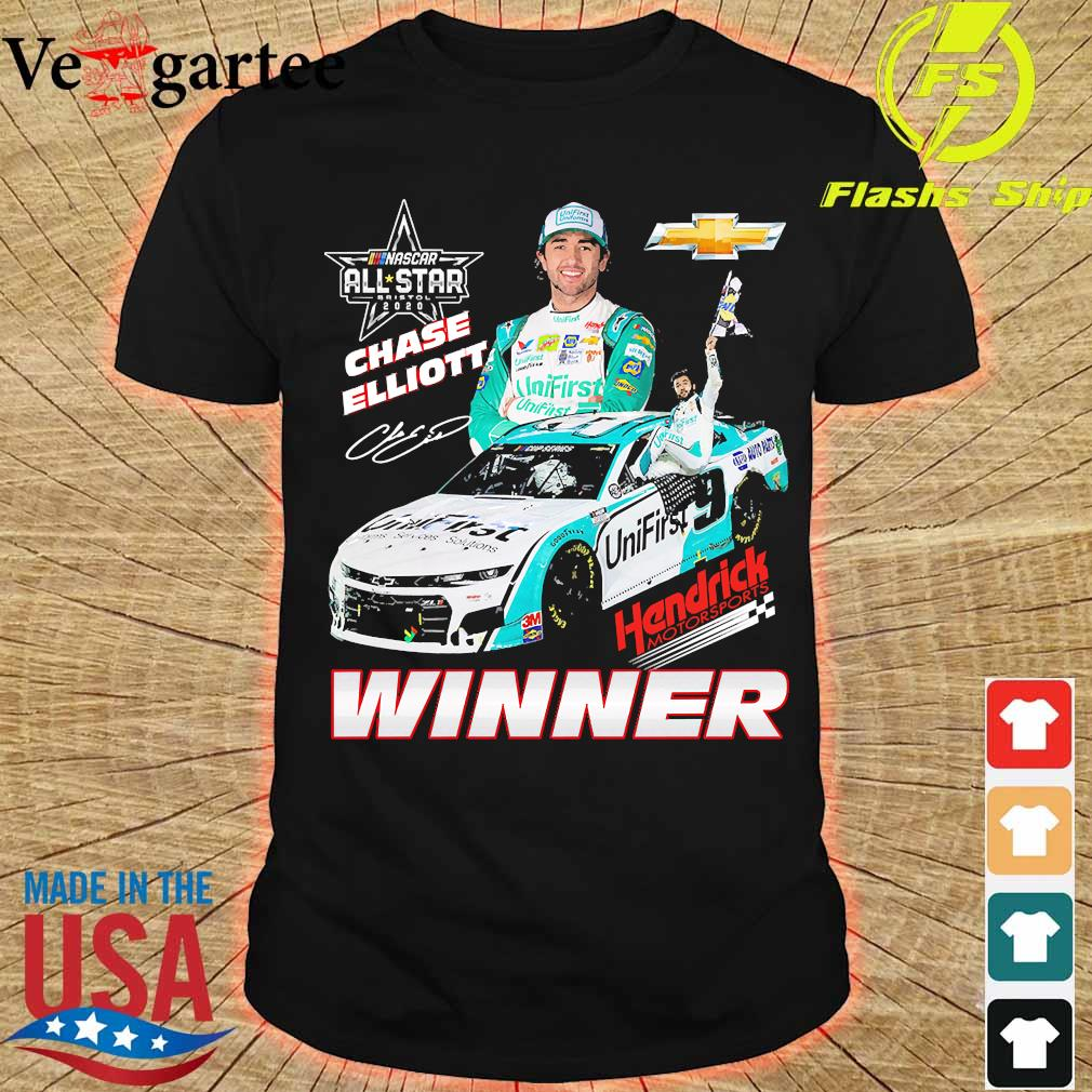 Nascar All star 2020 Chase Elliott Hendrick Motorsports Winner shirt