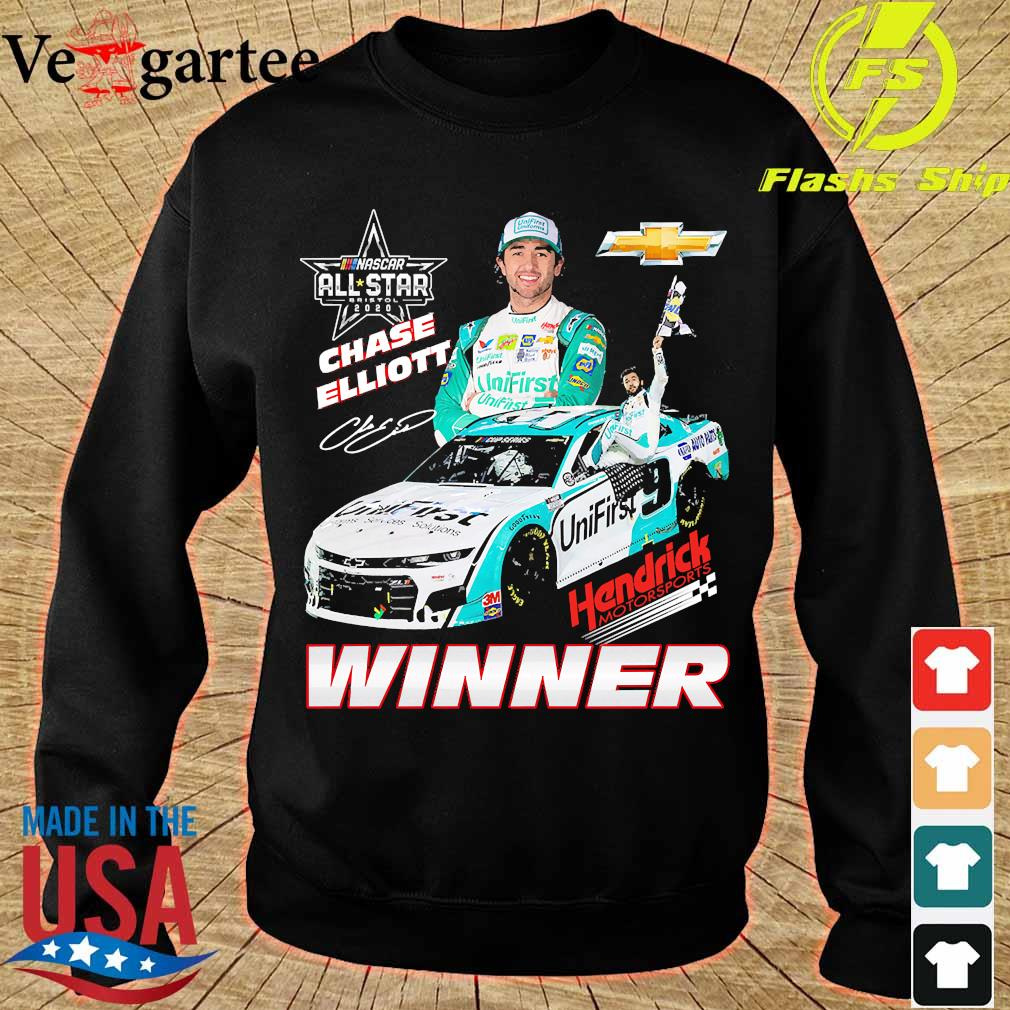 Nascar All star 2020 Chase Elliott Hendrick Motorsports Winner s sweater