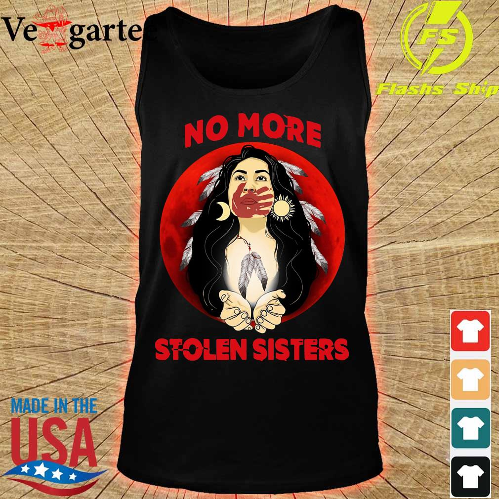 Native Americans no more stolen sisters s tank top
