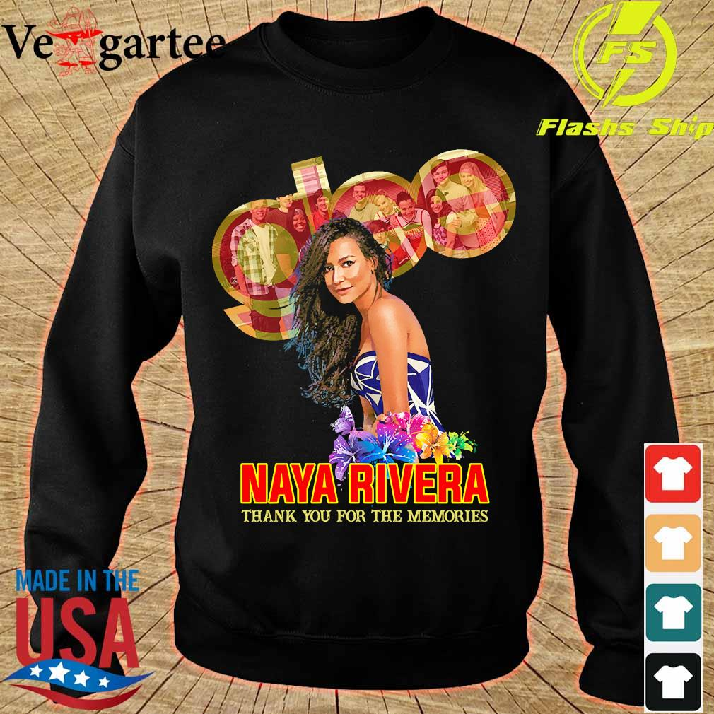 Naya Rivera thank You for the memories s sweater