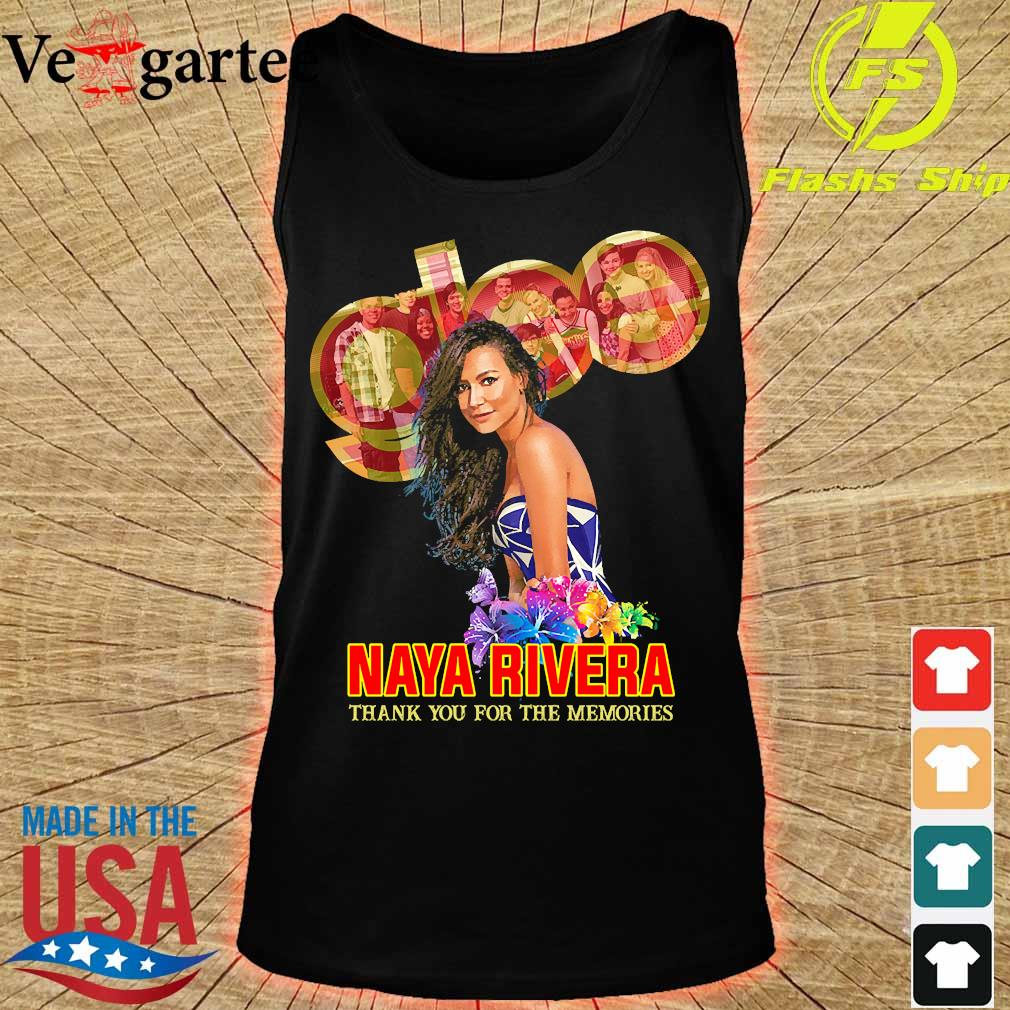 Naya Rivera thank You for the memories s tank top