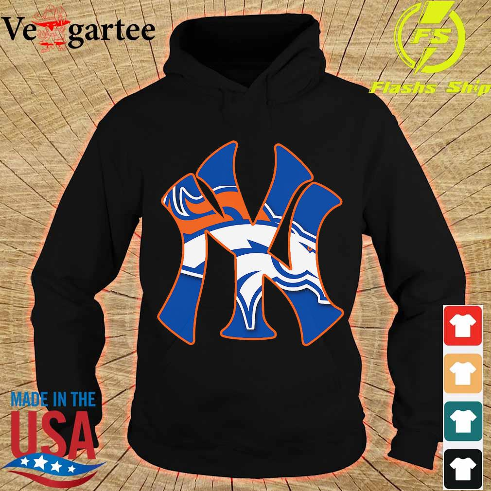 New York Yankees and Denver Broncos s hoodie