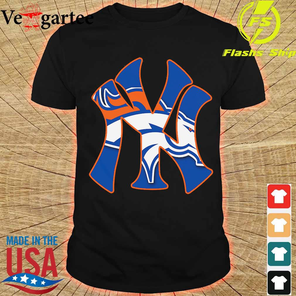 New York Yankees and Denver Broncos shirt